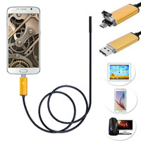 Mokingtop 10M 5M 2M 6 LED 5 5mm Lens 2IN1 Android Endoscope Inspection Waterproof Camera For