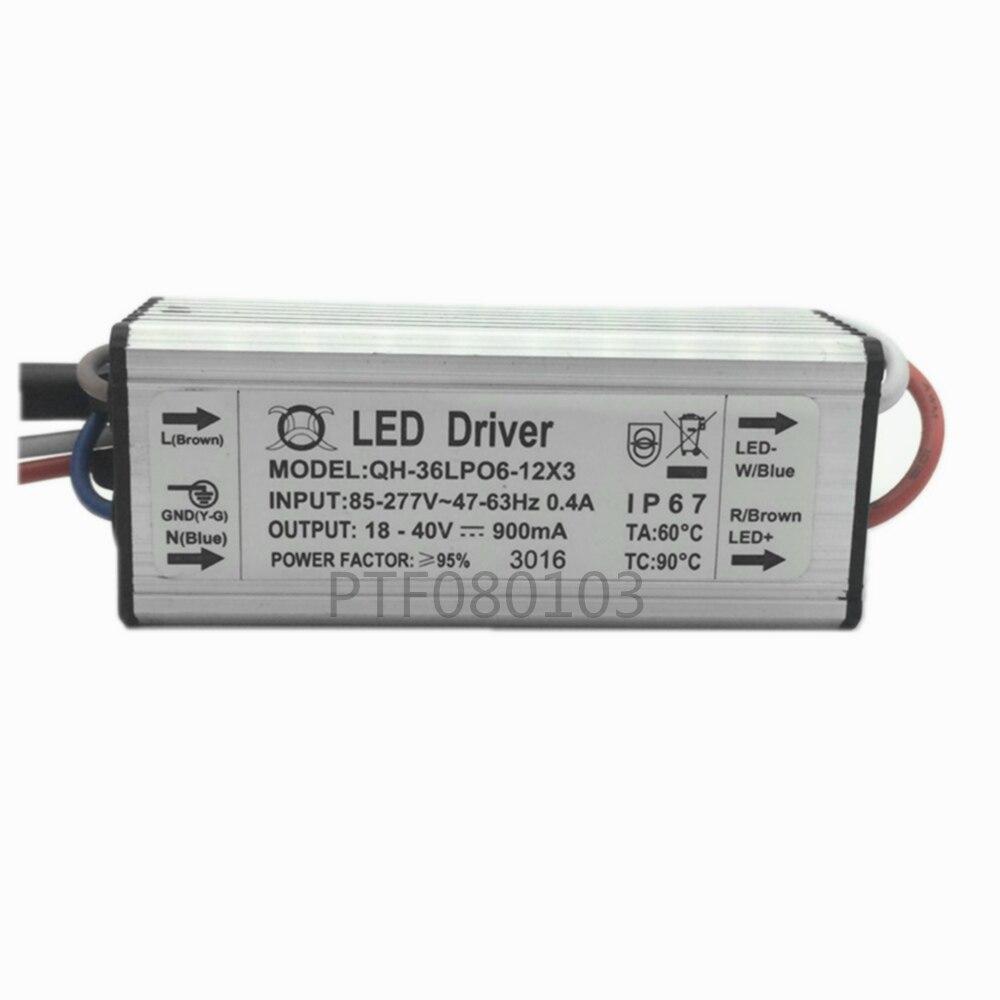 Купить с кэшбэком High Power Supply LED Driver 1W 3W 10w 20w 30w 36W 50w 100w 150W 200W 300-6000mA For light chip