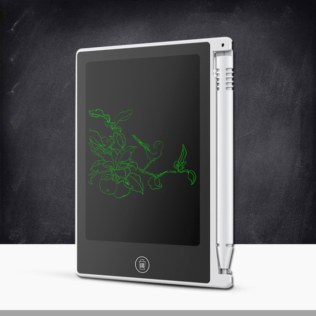 New Arrival 4.5-inch Portable LED Drawing Board Learning & Education Toys For Kids/Children's Electronics Painting Board Gift