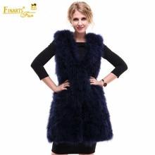 95ff3999323 Real Ostrich Fur Vest Fashion Rare Women Genuine Fur Coats Clothes Ostrich  China Female Ostrich Feather Clothing Winter Vest