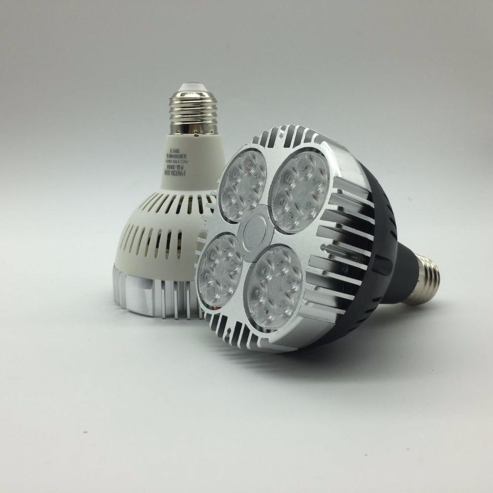 Lights & Lighting High Lumens 35w Led Par30 Led Bulb Spot Light E27 Led Lighting Lamp Warm White/cold White 85-265v 2 Year Warranty Structural Disabilities