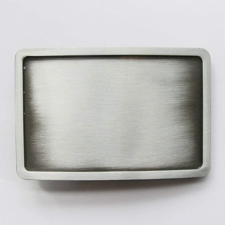 Retail Distribute Antique Silver Rectangle Blank Belt Buckle Bl004 Free Shipping In Belts Merbunds From Men S Clothing Accessories On