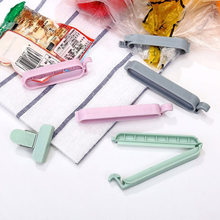 12Pcs/set Plastic Bag Sealer Snack Fresh Food Storage Bag Clips Kitchen Tool Accessories Mini Vacuum Sealing Clamp Food Clip(China)
