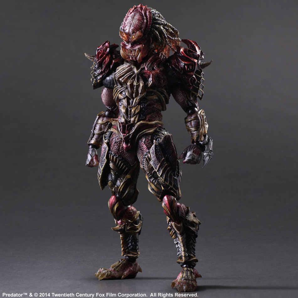 Anime Games Aliens vs Predator Requiem Variant Action Figure Playarts beeldje Speelgoed Film Model Play arts Kai pop brinquedos