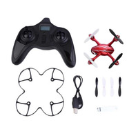 HUBSAN Brand 2.4G 4CH Mini RC Drone Quadcopters 2MP Camera Gyro Drone RC Helicopter Silver & Red for Hubsan H107C Kids Toys New