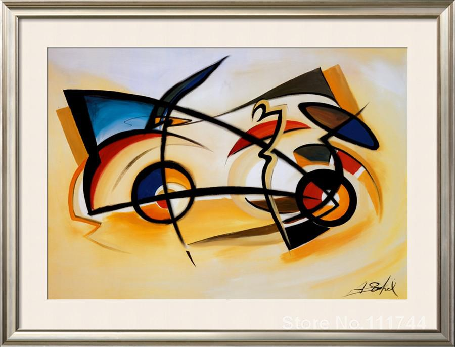 Wall art for living room decoration perpetual motion alfred gockel ...