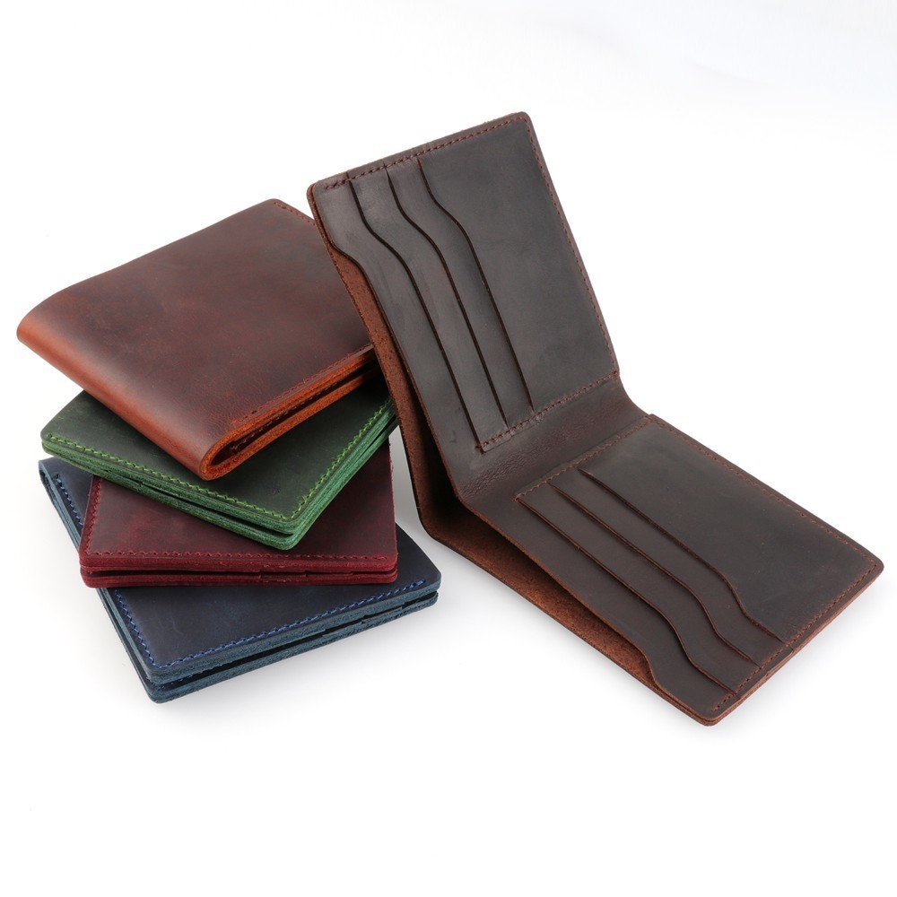 moterm 100% Genuine Leather Wallets Bifos