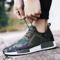 New 2018 Men Air Style Camouflage Print Fashion Sneakers Flat Casual Shoes Cool Guys Hip Hop