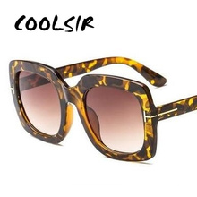 COOLSIR New Arrival Double Hit Color Jelly Frame Fashion Women Men Sunglasses Trending Ladies Gradient Lens Square Sun Glasses
