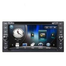 High quality Car Radio DVD player GPS for Toyota Alphard/Altis/Avensis/Corolla/camry/Celica/Vitz/Wish/Terios/Tundra/Rush