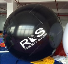 Free shipping 2m/6.5ft PVC inflatable balloon sky balloon helium balloon with free logo
