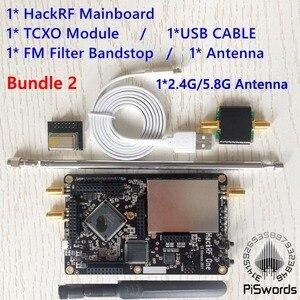 Image 5 - Hackrf um sdr software definido rádio, 1mhz a 6ghz placa de desenvolvimento mainboard kit com portátil havoc fm filtro antena