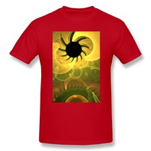 Short Sleeve Casual Black Hole Sun Men's t shirt Promotion 100 % Cotton tee shirt for Men