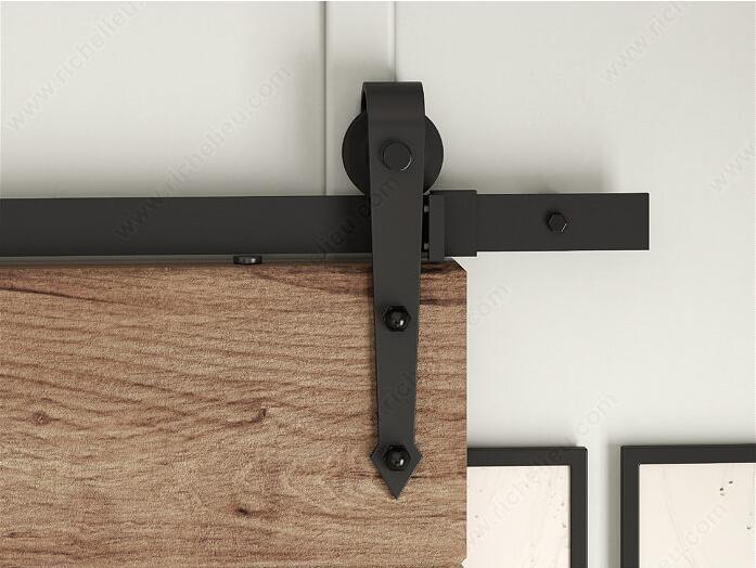 Здесь продается  DIYHD 5FT-10FT Arrow Wheel Black Rustic Sliding Barn Door Hardware   Строительство и Недвижимость