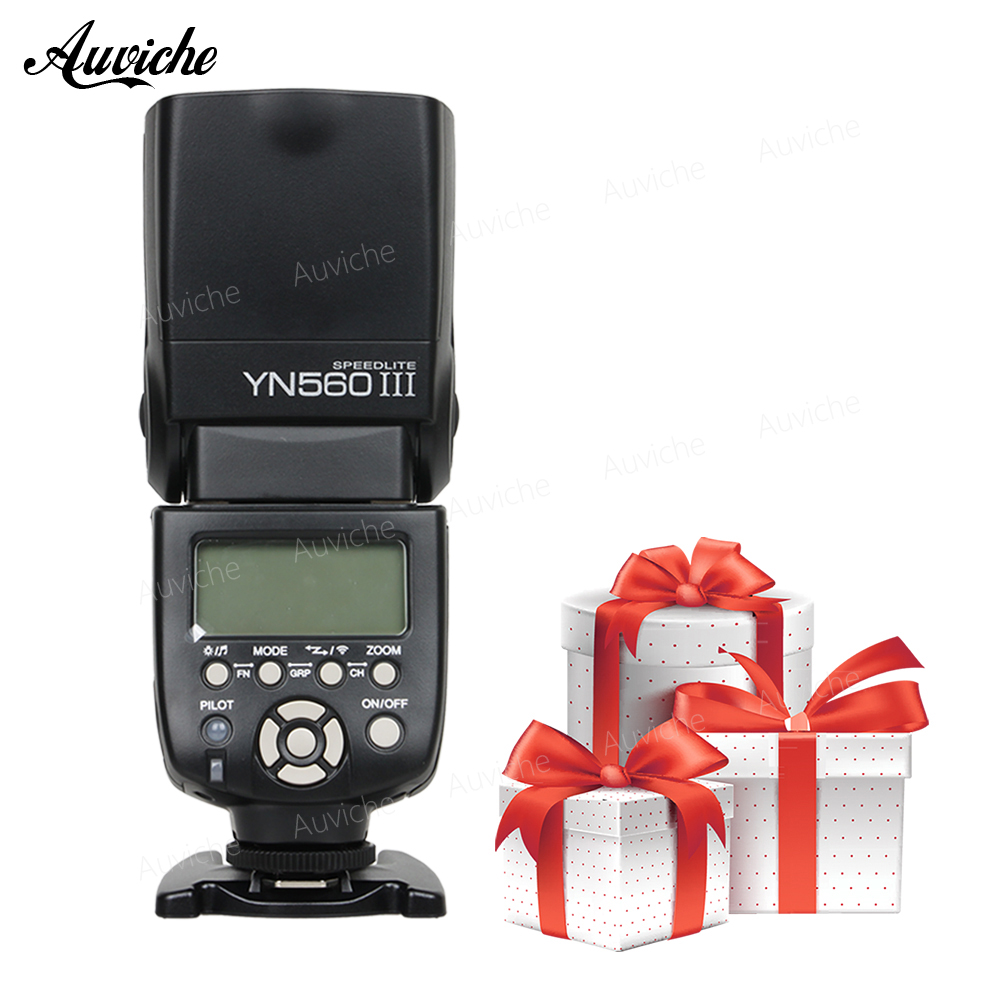 Yongnuo YN-560III YN560III Wireless Flash Speedlite 2.4G radio flash GN58 for Canon Nikon Pentax Olympus Camera цена и фото