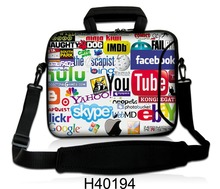 "Bolso del ordenador portátil 10 ""11"" 12 ""13"" 13.3 ""14"" 15 ""15.6"" 17 ""17.3"" para ipad/macbook air laptop school messenger bag hombres mujeres bolsa de ordenador portátil accesorios"