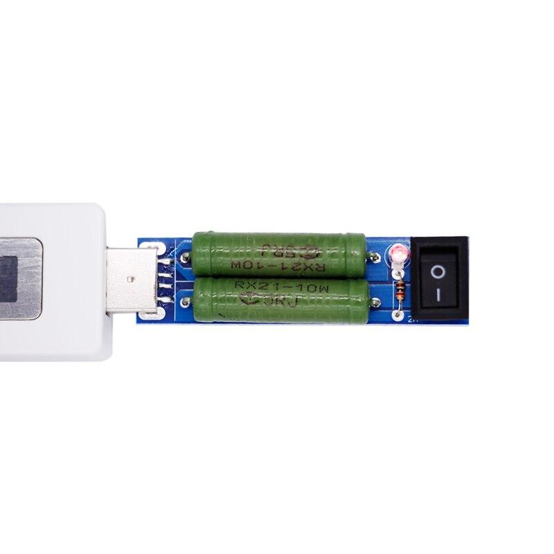 USB áram feszültségmérő akkumulátor töltő teszter érzékelő - Mérőműszerek - Fénykép 3