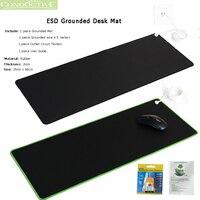 ESD Earth Ground Desk Mat Kit