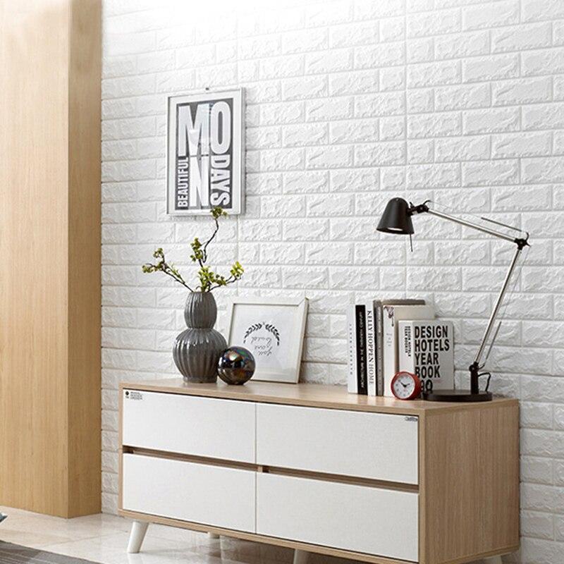 Napravite 3D zidnu oblogu 2.6Ftx2.3Ft oguliti i staviti 10 komada - Kućni dekor - Foto 2