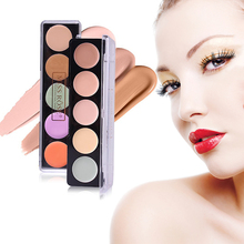 US $0.83 43% OFF|Miss Rose Concealer Face Makeup Natural Brighten Foundation Whitening Base Full Coverage Concealer Cream Palette Eyeshadow TSLM1-in Primer from Beauty & Health on AliExpress - 11.11_Double 11_Singles' Day