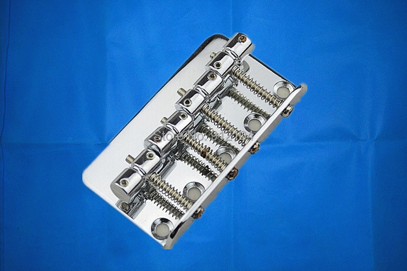 free shipping new 4strings electric bass guitar bridge in chrome made in China  L12 magnetic radial type intake new original pneumatic pencil shaped cylinder pbr10x20su