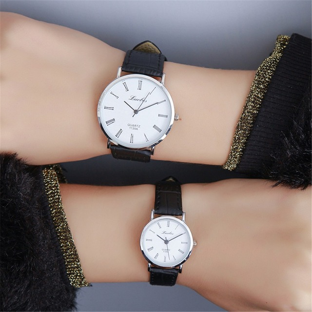2017 Famous Brand Unisex Watches Stylish Slim Quartz Watch Men Women Elegant Dre