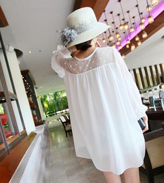 New 2015 Woman Maternity Summer Wear Brief Dresses Clothing Breast Feeding Clothes For Pregnant Women blouses & shirts
