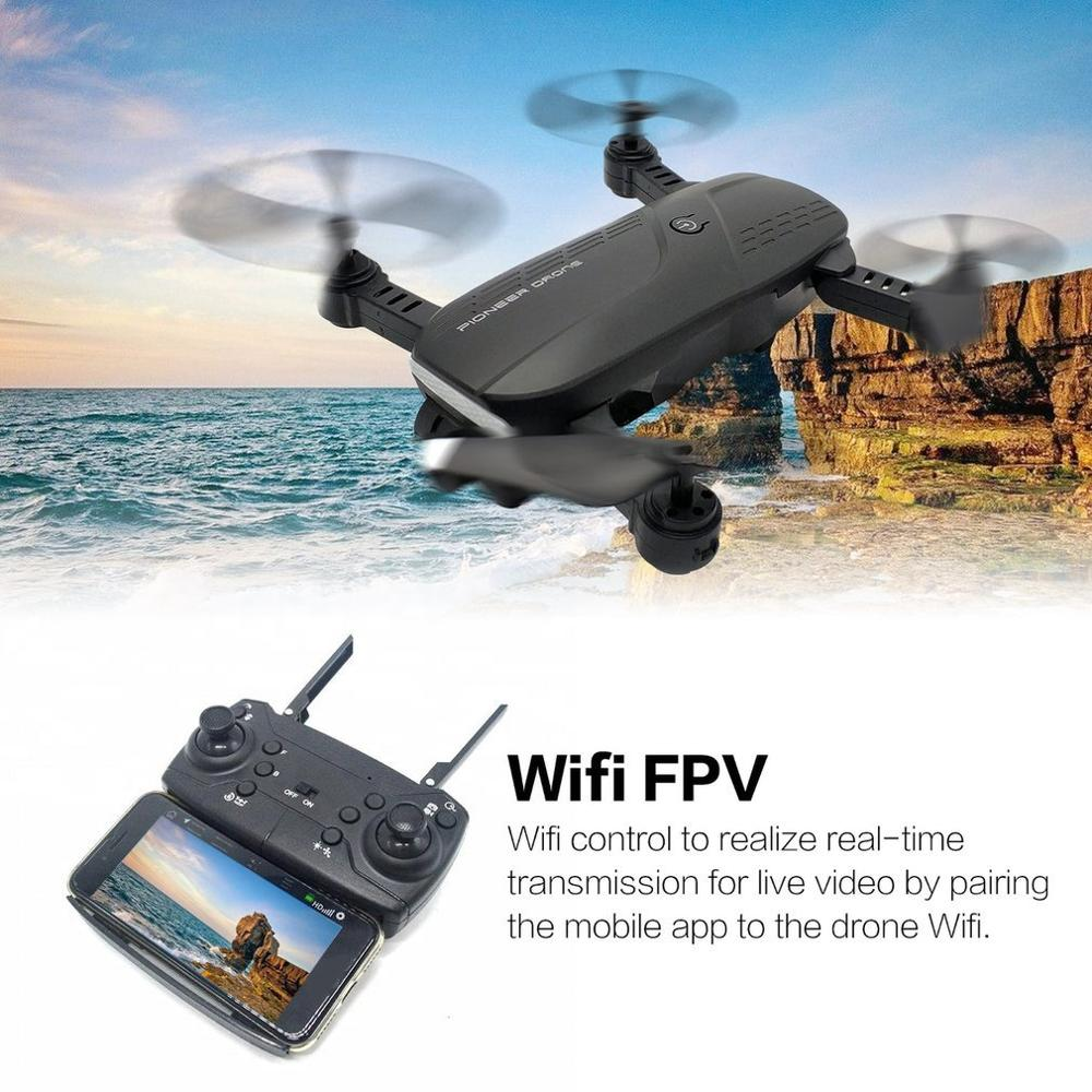 lowest price WIFI HD Camera Foldable Aerial Photography Selfie Helicopter Airplane RC Quadcopter Drone Long Battery Remote-controlled