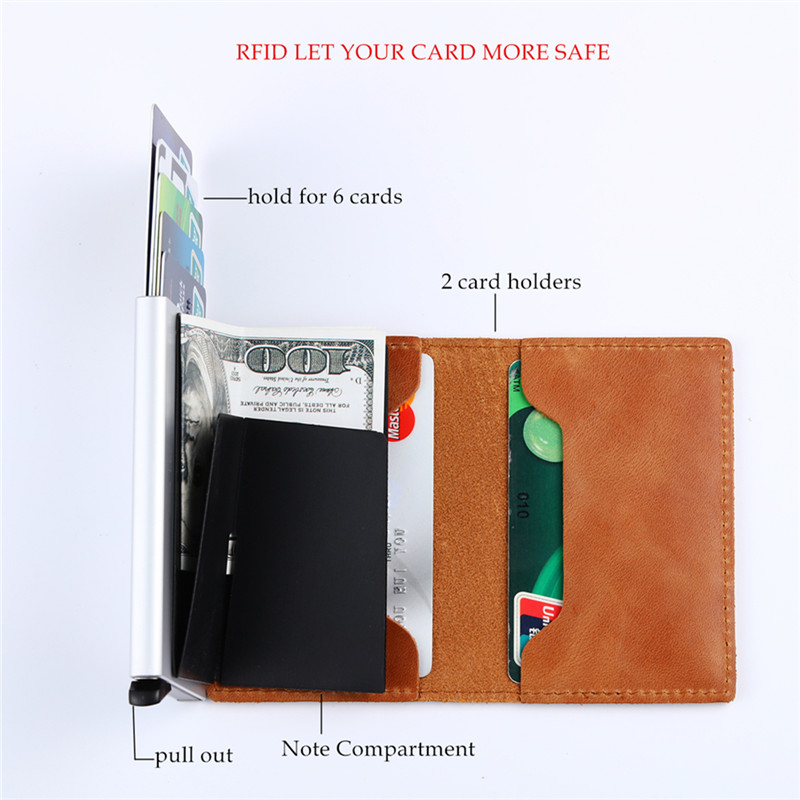 Vintage Unisex Genuine Leather Purse Bags and Wallets Hot Promotions New Arrivals Women's Wallets