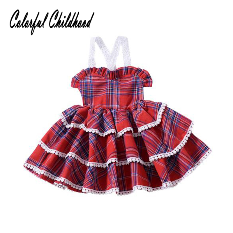 HTB1qmR9XdjvK1RjSspiq6AEqXXaA Girls Dress Spring Autumn European and American Style embroidery Flower vest dress toddler Baby Girls clothing 2-8Yrs