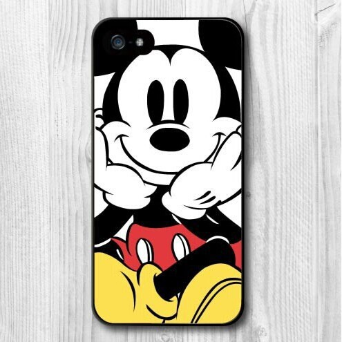 official photos a9ab6 cf1e7 US $1.79 10% OFF|Spring Lemon New Popular Cute Mickey Mouse Protective Hard  Cover Case For iPhone 7 7plus 6 6s 6plus 6s plus 5 5S 4 4S 5C-in Fitted ...