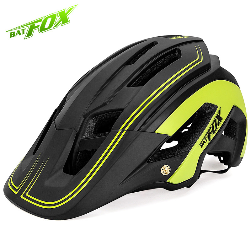 BATFOX Bike Helmet Bicycle Mountain-Bike Triathlon Road Ultralight Safety New Breathable title=