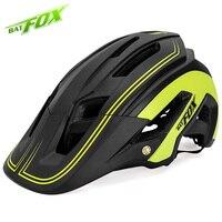 Batfox 남자 자전거 헬멧 초경량 통기성 안전 2019 새로운 트라이 애슬론 사이클링 헬멧 도로 산악 자전거 자전거 mtb 헬멧