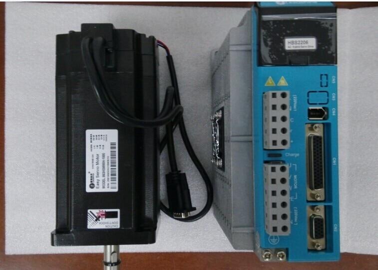 Leadshine High voltage Easy servo driver HBS2206 +863HSM100H-E1  220-240VAC NEMA 34 8NM for CNC router/3D printer/cnc cutting servo driver mr e 70ag