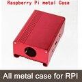 Розовый Металлический Ящик/Чехол Для Raspberry Pi 2 & 3 С Вентилятором Также Подходят Для Камеры Алюминиевый корпус металл алюминиевый корпус