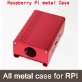 Pink Metal Box /Case For Raspberry Pi 2 &3 With Fan Also Fit For Camera Alu-case metal aluminum case