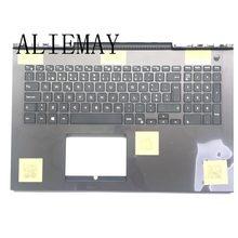 Brand new INSPIRON15-7000 PO teclado do laptop original para DELL 7577 7587 G7 assembléia descanso de mãos/w teclado PO
