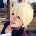 Hot!! Black Butler Kuroshitsuji Alois Trancy Cosplay Wig Blonde Short Anime Wigs Cheap Mem Costume Hair Free Shipping