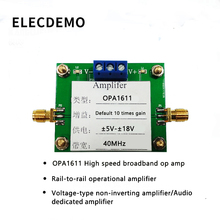 OPA1611 Module High Speed Broadband Op Amps Rail-to-Rail Phase-Of Operational Amplifiers Audio-Specific Competition