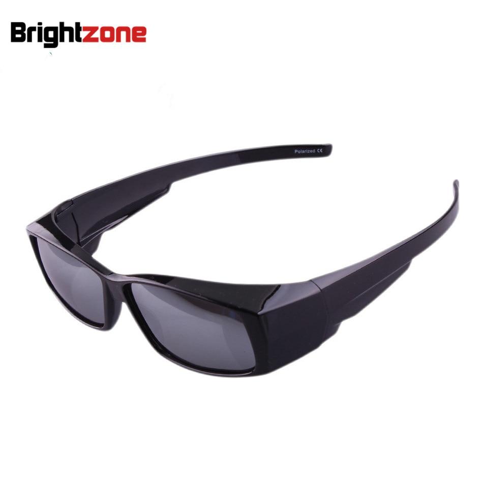 3e443f3ea60a4 Lente Polarizada óculos de sol do esporte ao ar livre Tampa Caber Sobre  óculos de Sol Desgaste Sobre óculos de Miopia Para Corrida Esportes Ao Ar  Livre ...