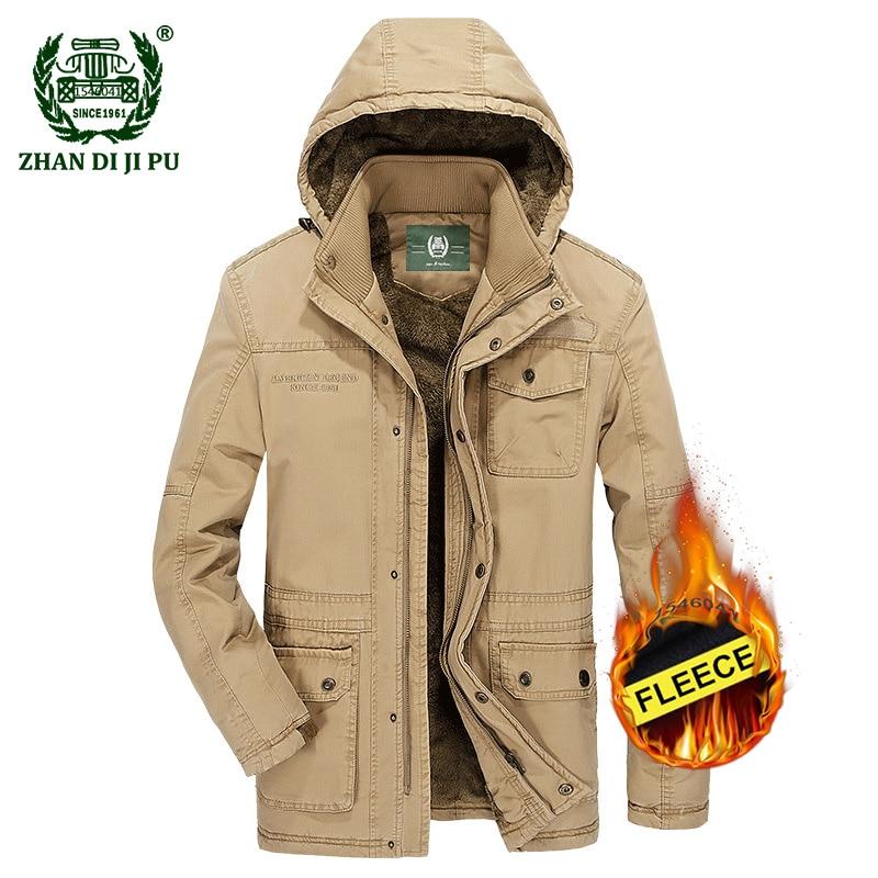 c16d14ffbc8 Брендовая зимняя куртка для мужчин модные M-5XL Новое поступление ...