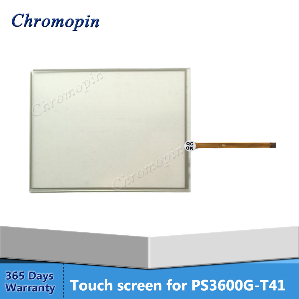 Touch screen panel for Pro-face PS3600G-T41 PS3600G-T41-24V PS3650A-T41-SETXP-512-BU t40 t41 t60 t42 t43 ltn141p4 l02 ltd141en9b lcd screen