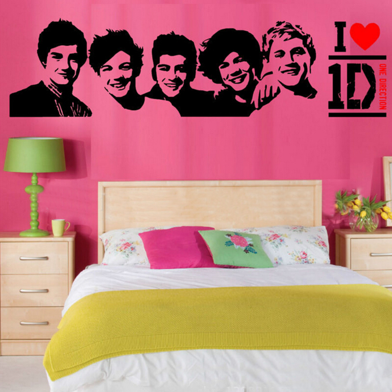 One Pieces Direction Band DIY Wall Sticker Decal Art Mural Removable Home Decoration Kids Room Decor