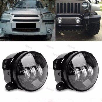4 inch fog light 30W LED Lamp 4'' Fog Lamps Auxiliary Passing Light white DRL for Jeep Wrangler JK CJ TJ