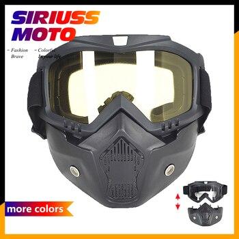 62464e84f7 Gafas de Esquí Skate motocicleta Goggle Motocross gafas de casco a prueba  de viento fuera de