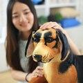 40 см-100 см большой размер игрушки мультфильм собака плюшевые игрушки на украшение дома собака куклы подарок на день рождения для дети