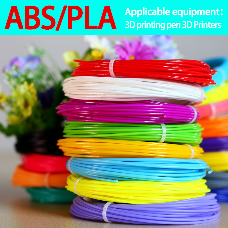 Pla 1.75mm Filament 20 Bright Color 3d Printed Pen Abs Plastic 3d Pen Plastic 3d Printer Line 3d Pens Wire Environmental Safety