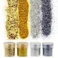Azul 4 Colores 1 Botella de Polvo Tips Para Bling Shinny Glitter Polvo de Acrílico Del Arte Del Clavo Decoraciones Herramienta BG057-60