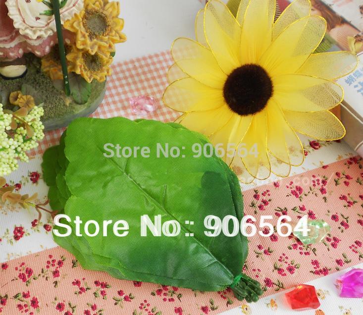 El envío libre al por mayor DIY material de girasol, hojas ...