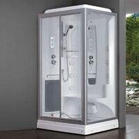 1300 mét Vuông hình trạng hơi sang trọng vách tắm phòng tắm tắm hơi cabin tắm có vòi massage đi bộ-trong phòng tắm hơi phòng 8024